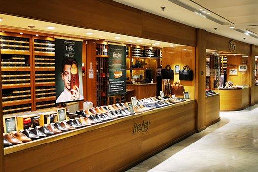 Boutique Bexley Paris Palais des Congrès vitrine