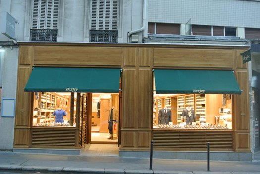 Boutique Bexley Paris Vaugirard vitrine