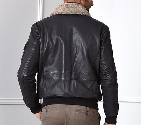 size for leather jacket