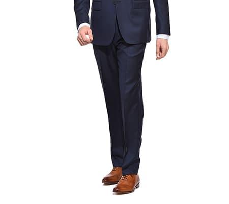 taille pantalon costume ajusté