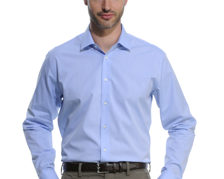 size slim shirt for man