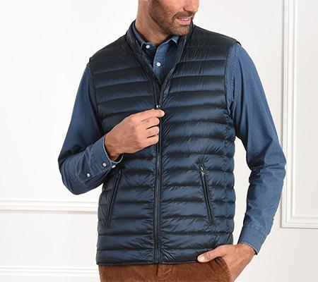 size down jacket shortsleeves