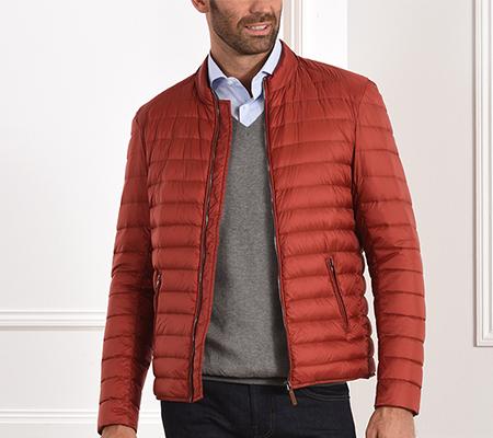 size down jacket longsleeves
