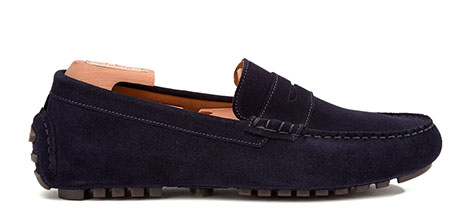 Chaussures mocassin driver homme Bexley