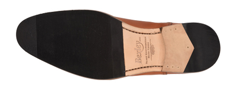 Chaussures homme semellle cuir avec patin Bexley