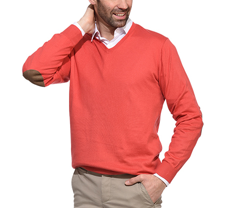 Pullover for men cotton cashmere