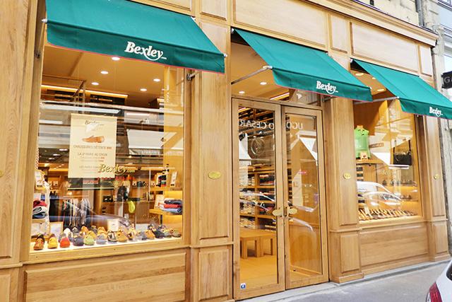 Boutique Bexley lyon Childebert vitrine