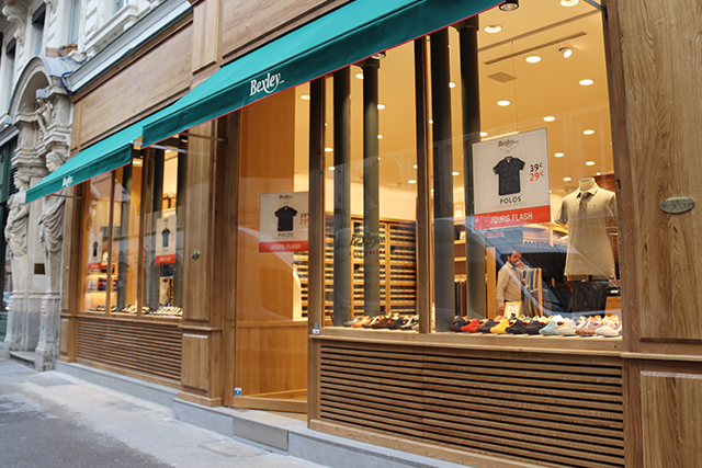Boutique Bexley Lyon Herriot vitrine