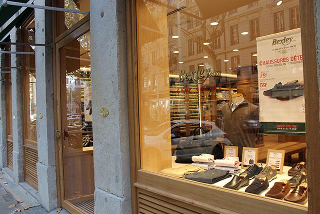 Boutique Bexley Lyon Roosevelt vitrine