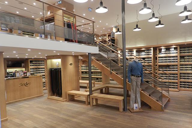 Boutique Bexley Marseille intérieur