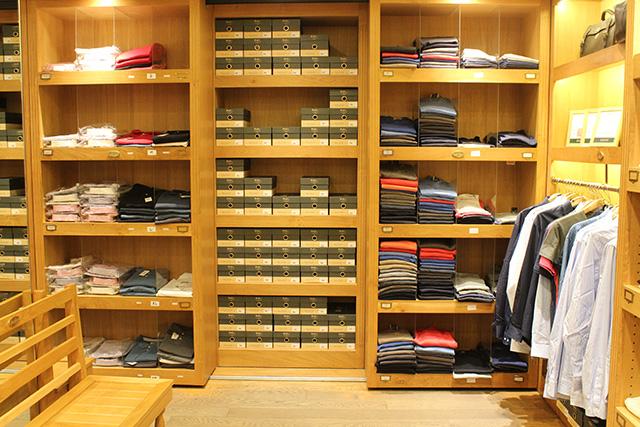 Boutique Bexley Champs-Elysées intérieur