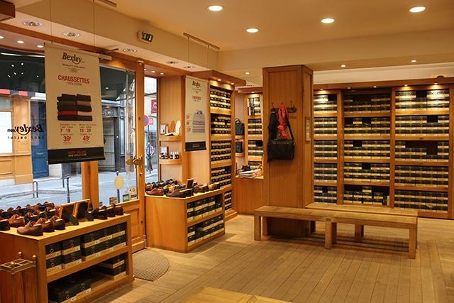 Boutique Bexley Paris Chauveau intérieur