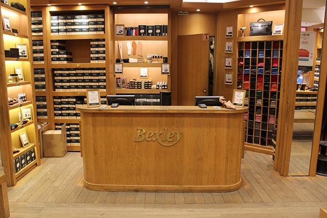 Boutique Bexley Paris Chauveau caisse