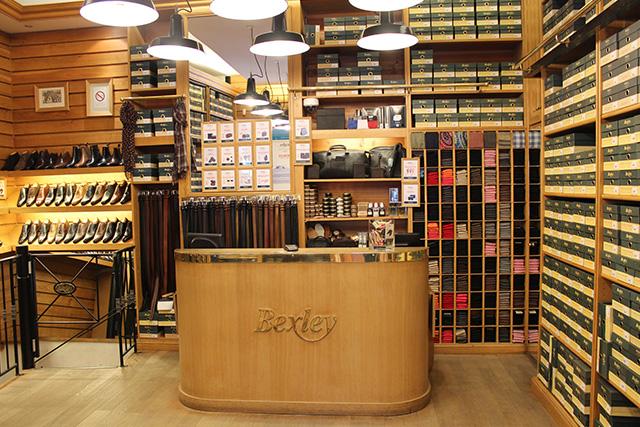 Boutique Bexley Paris Raspail caisse